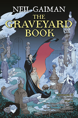 Una nuova avventura: The graveyard book (graphic novel)