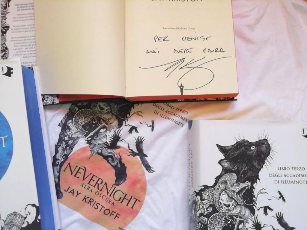 autografo Jay Kristoff