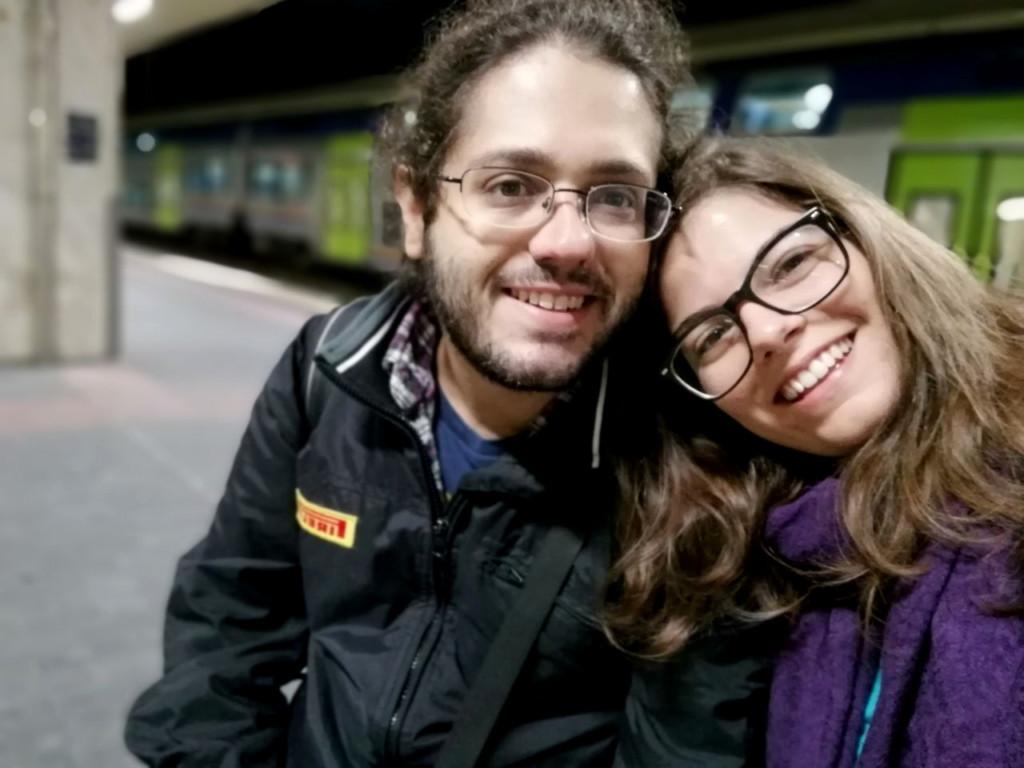 io e Anse in viaggio