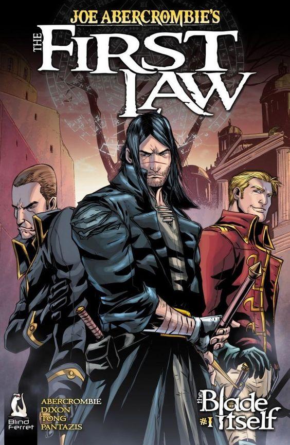 Copertina della versione inglese a fumetti de La prima legge
