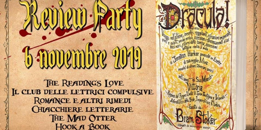 Review Party Dracula di Bram Stoker