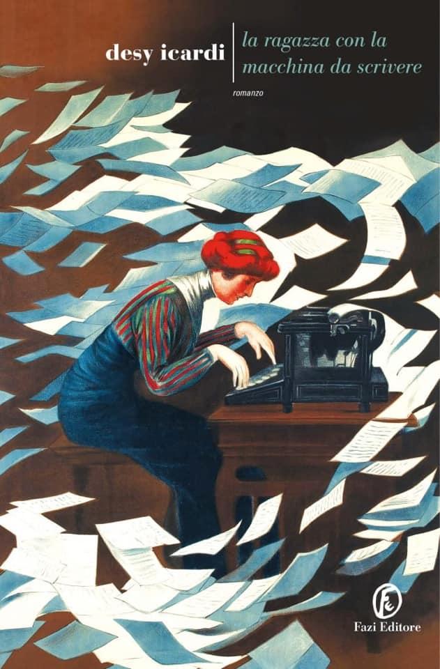 Copertina de La ragazza con la macchina da scrivere