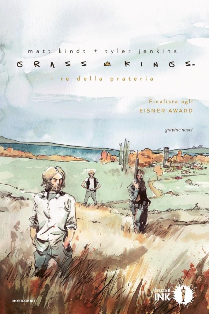 Copertina Grass Kings, edizione Oscar Mondadori Ink