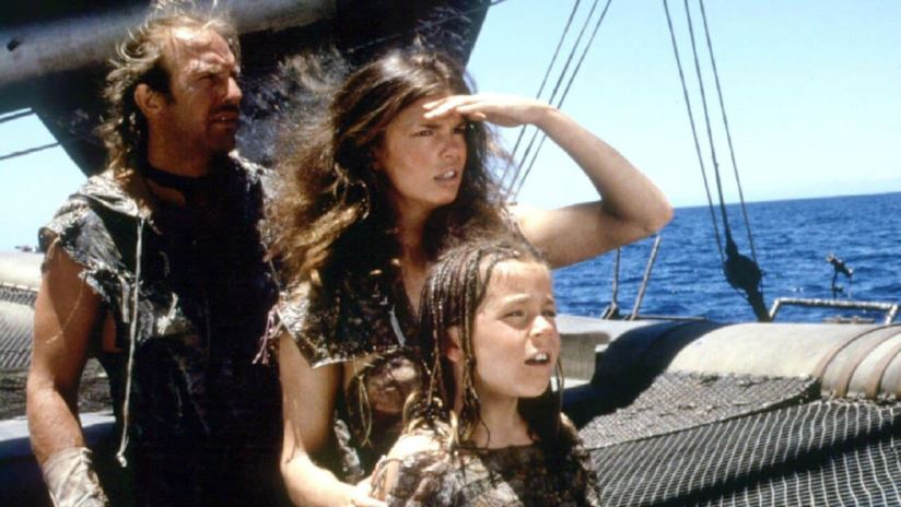 Scena dal film Waterworld