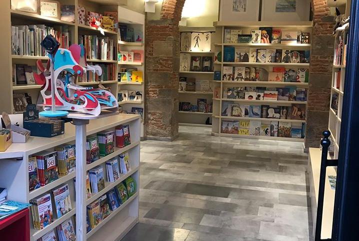 Una vista della Libreria Gli Anni in Tasca | Blogger uniti per le librerie indipendenti