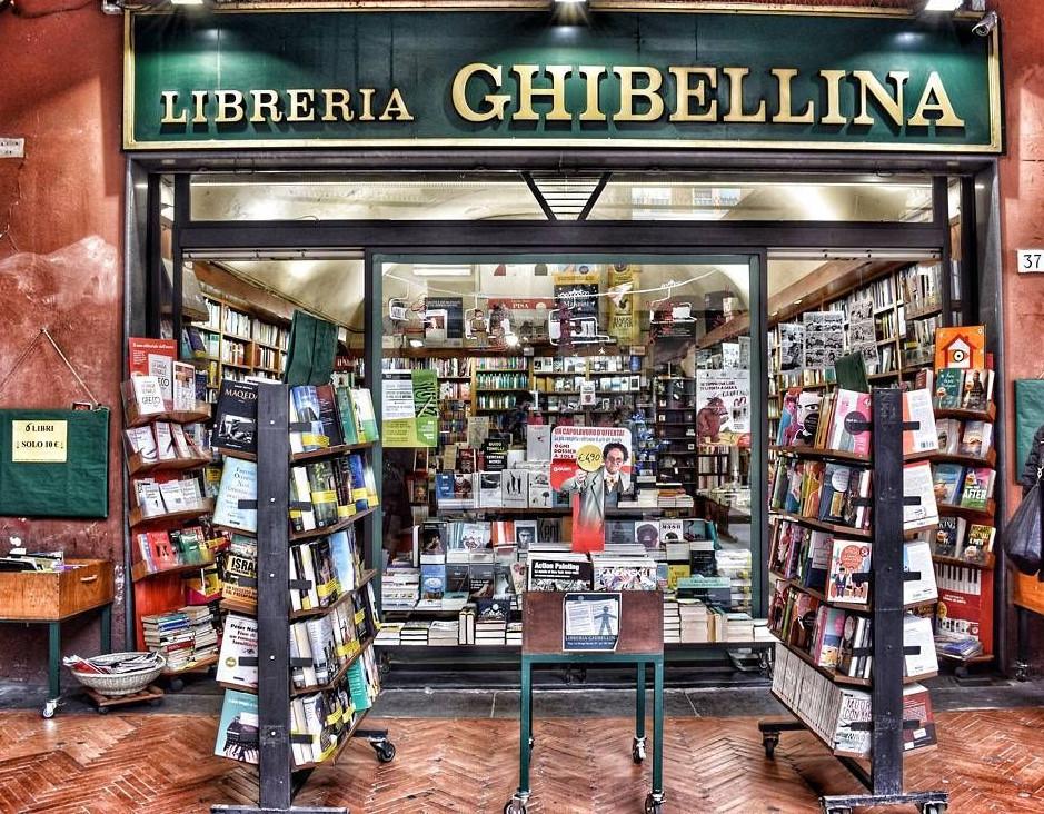 Una vista della Libreria Ghibellina | Blogger uniti per le librerie indipendenti