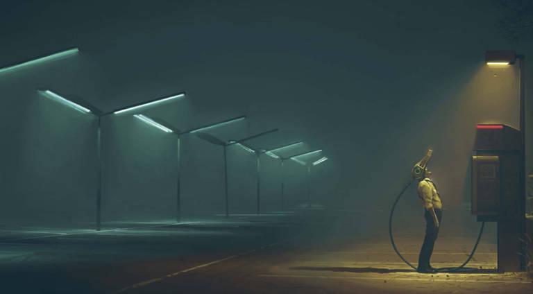 Un'illustrazione da Electric State | Recensione