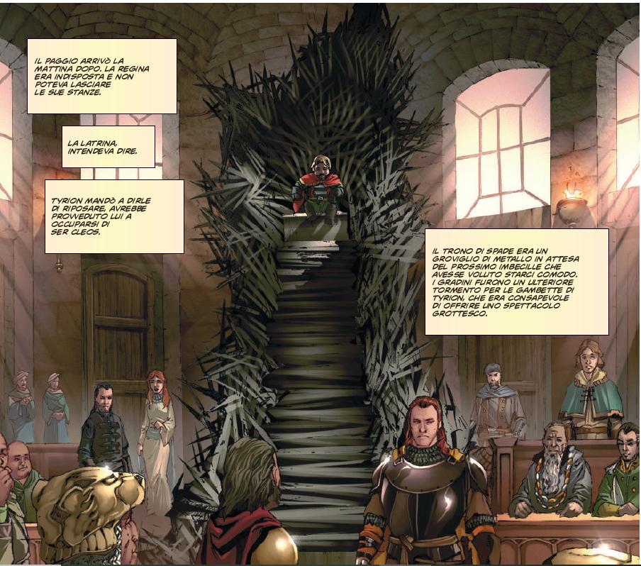 Scena del libro | Recensione Il Trono di Spade