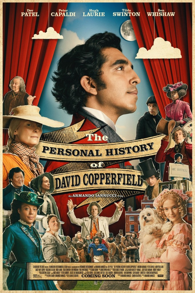 "Locandina del film ""La vita straordinaria di David Copperfield"""