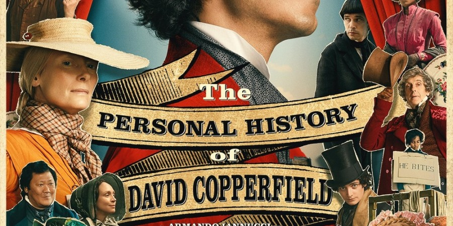 Locandina del film La vita straordinaria di David Copperfield