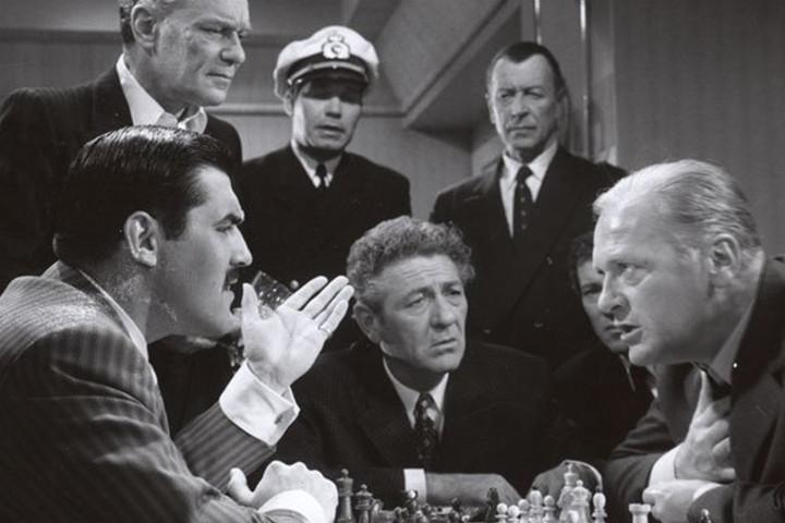 Un'immagine tratta dal film Schachnovelle, del 1960