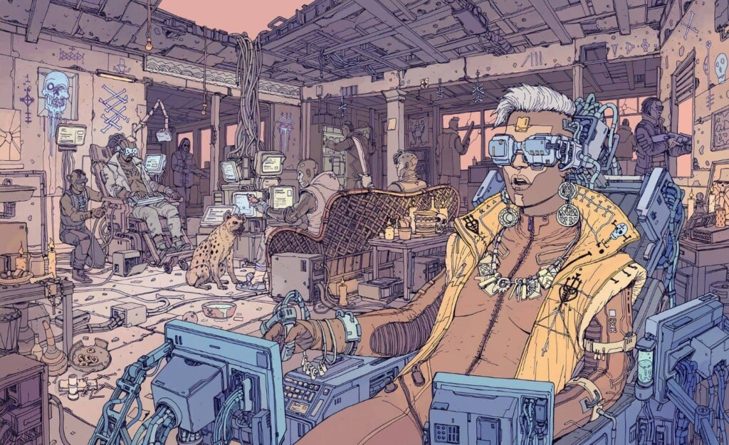 Neuromante Gibson cyberpunk